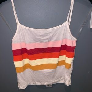 """""""pXs Basics"""" by pacsun cropped tank top."""